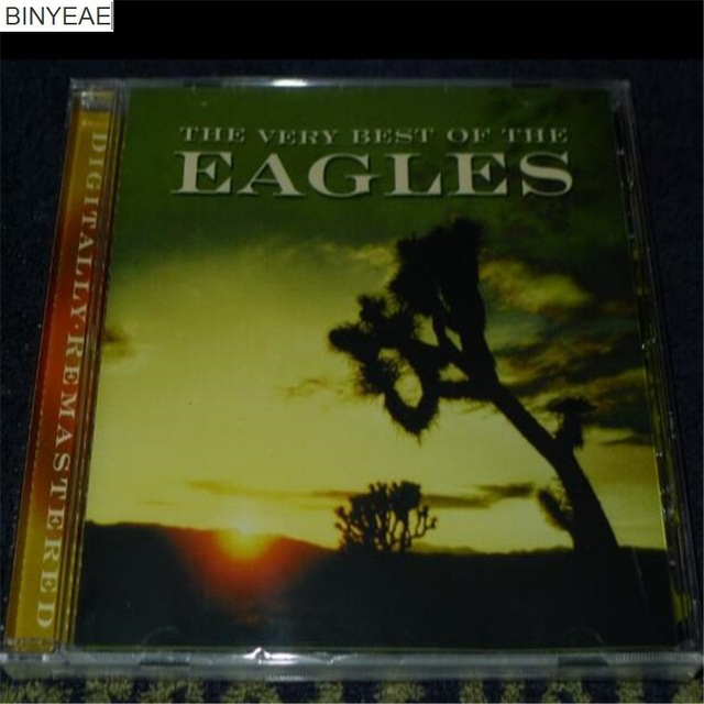 BINYEAE new seal: The Very Best of the by Eagles CD light disk [free ...