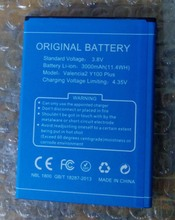100% Original  Doogee Y100 Plus 3000mAh Battery For Phone + Tracking Number