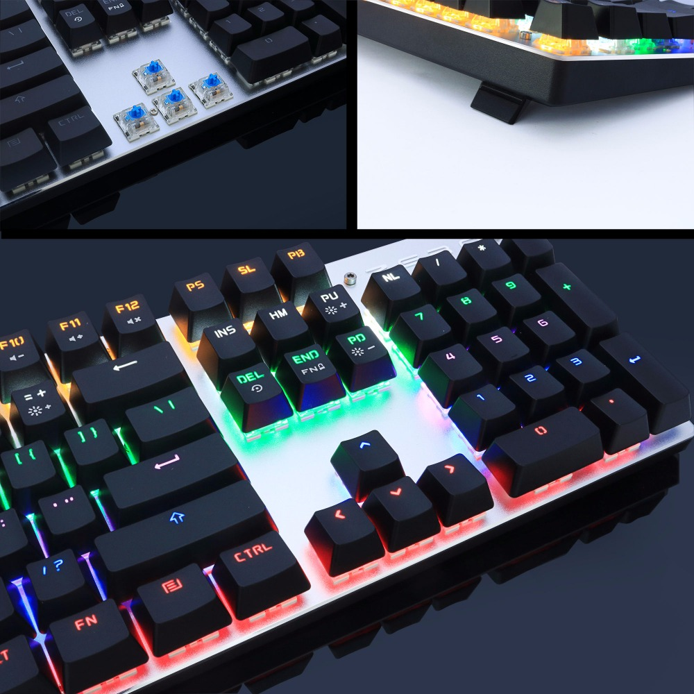 Mechanische Tastatur von Metoo Gaming 87/104 Anti-Ghosting Luminous - Computer-Peripheriegeräte - Foto 3
