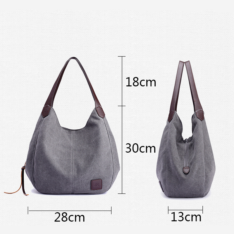 Kvky Brand Women S Canvas Handbags High