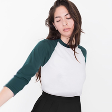 American Apparel женская футболка Лоскутное Тройник camisetas femininas ropa mujer camisetas mujer camisetas топы
