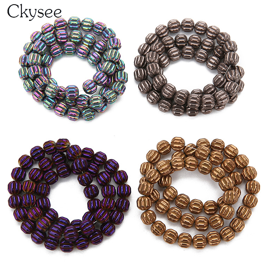 26Pcs//Strand Blue Cross Loose Spacer Beads Stone Beads Pour Bracelet À faire soi-même Making