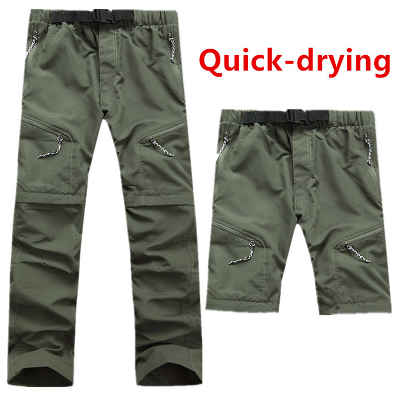 8a6524744938d Detail Feedback Questions about Free shipping New arrival Men's quick  drying Leisure Travel active Removable hiking Waterproof Perspiration pants  trousers ...