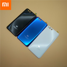 MI6 100% Original 3D (gorilla Glass), 뒤 Housing Cover 대 한 미 테크의 미 6, 백 문 교체 Hard 배터리 Case, 3 색 Stock Xiaom Mi6(China)