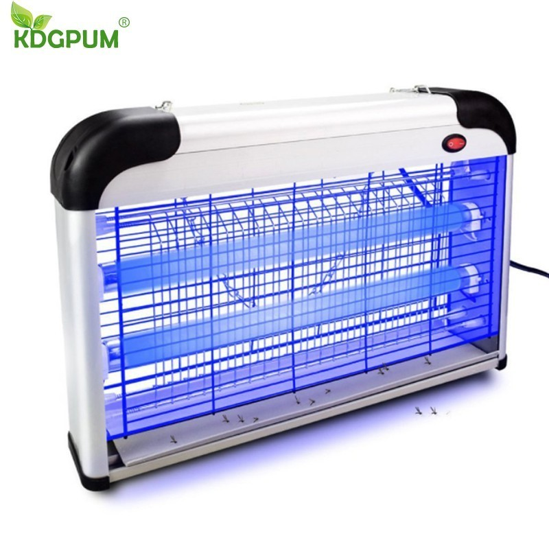 Insect Killer 20W Electric Shock Bug Zapper Mosquito Killer Lamp Fly Moth Wasp Pests Killer Anti-fly Trap Lamp For Home