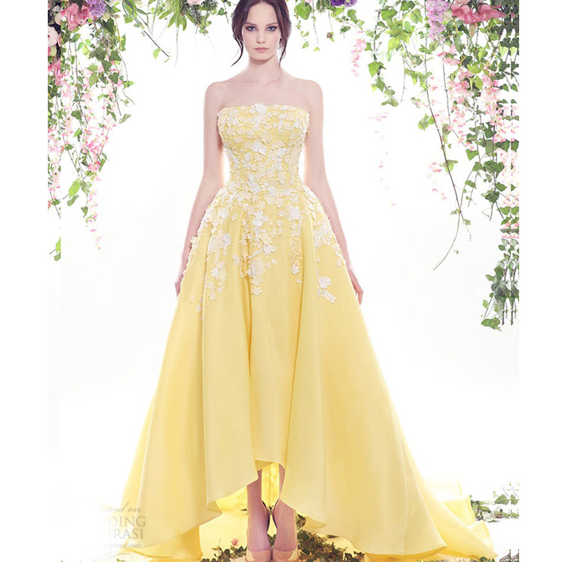 online buy wholesale yellow white wedding dresses from