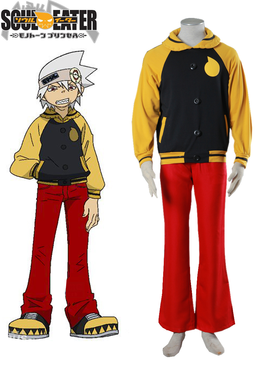 S-3XL Halloween Party Cos Anime Soul Eater Cosplay SOUL EATER Cos Man Woman Cosplay Costume
