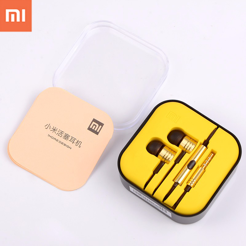 3.5mm xiaomi earphone With Mic Earbud earphone For iphone6/6s/5s/5 for Samsung galaxy s6 note 7 Xiaomi mi5 redmi pro PC/MP3/MP4 free shipping ycdc lovely star 3 5mm earphone earbud for xiaomi htc samsung iphone mp3 mp4 pc 4 colors