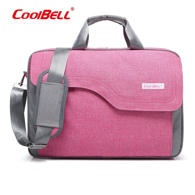 Coolbell Waterproof 15 17 Inch Men Women Laptop Notebook Computer Bag Handbag Briefcase Shoulder