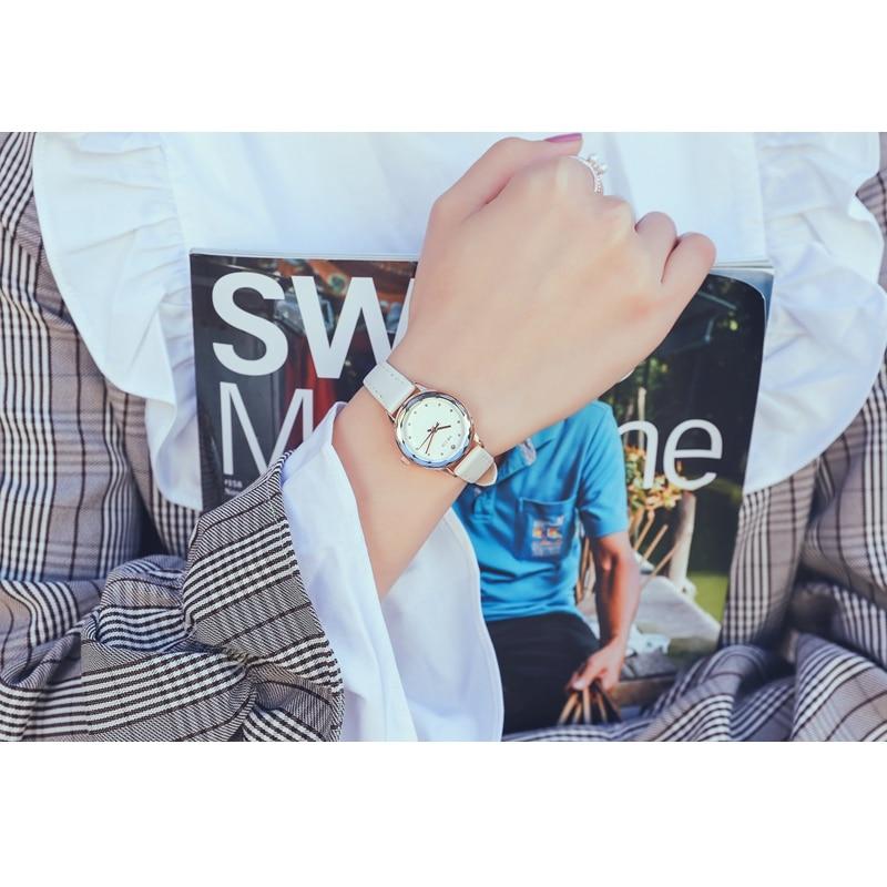 KEZZI montre femme Mały zegarek Moda Diamentowy zegar kobiet zegarki - Zegarki damskie - Zdjęcie 5