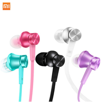 Original Xiaomi Piston 2 Earphones Stereo Microphone In Ear Earphones For Phones Ipads MP3 3 5mm