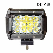 IP67 4 polegada 36 w luzes LED worklight bar ponto do feixe de Condução para offroad Toyota 4WD UAZ motocicleta 12 rampe v 24 v 6000 k lâmpada do carro nevoeiro