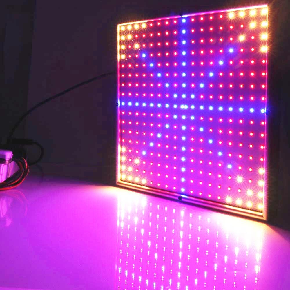 30W 290 LED осветителни тела 200Red: 36Yellow: 54Blue SMD3528 Full Spectrum LED Plant Lamp Hydroponic Grow Light AC85-265V на едро