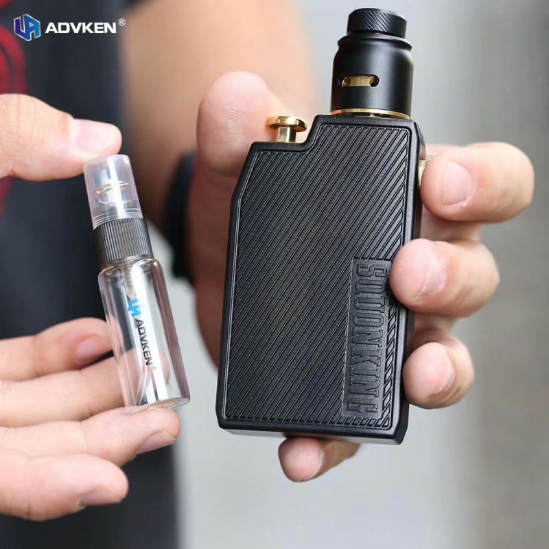 Original Advken CP Squoking Mod Kit Electronic Cigarette with Squonk BF Box Mod 22mm CP RDA Atomizer Vape Vaporizer Kit ECigs electronic cigarette 230w original rev gts mod temperature control box vape mod dual 18650 battery vape with ecigs atomizer rda
