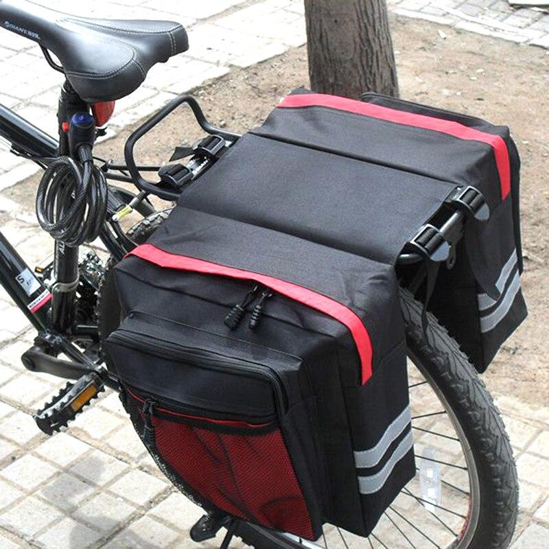 große Kapazität Fahrrad Satteltasche MTB Fahrrad Sitz Tasche Radfahren Taschen