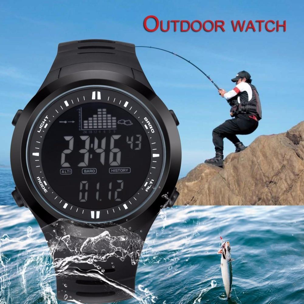 OUTDOOR SPORT WATCH Men Sport Waterproof 30m Digital Watch men Swimming Wristwatch SUPPORT Weather Forecast A2