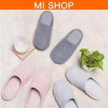 Authentic Xiaomi Dwelling Cotton Slippers for Autumn and Winter Pure Antibacterial Odor-Resistant Anti-slid TPR Sole