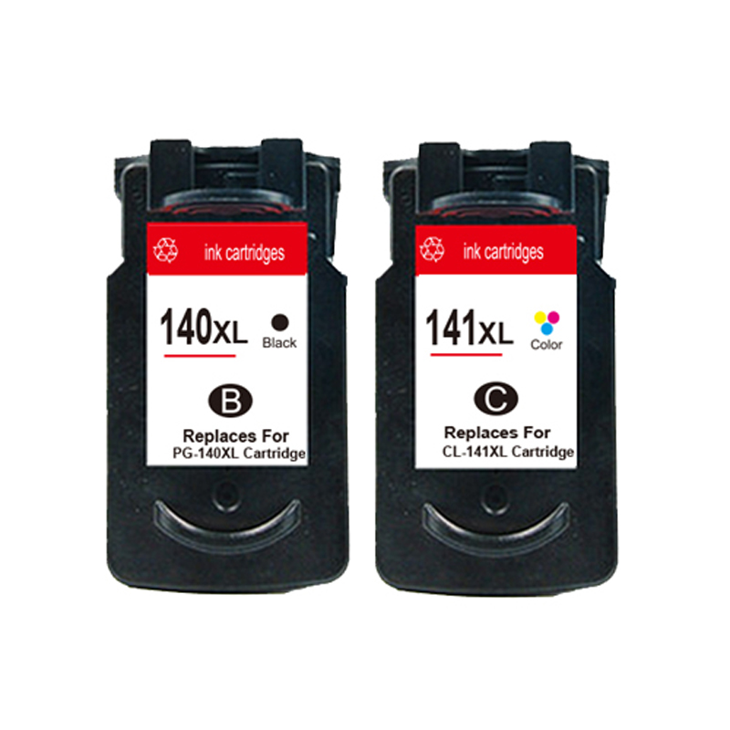 PG-140 CL-141 Ink Cartridge for Canon PG140 CL141 Pixma IP2880 MG2580 MG2400 MG2500