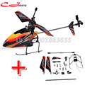 Free shipping Single V911 2.4G 4CH RC MINI Helicopter Outdoor V911 new / old  version Plug + V911 spare parts for WL Toys