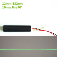 10mW 532nm Green Line Laser Module Industrial Areas Medical Biochemical Laser Tag