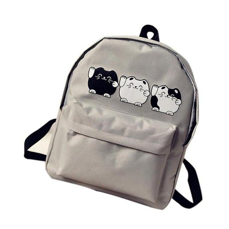 maison Backpack Unisex Girls Boys Canvas School Bag Travel Backpack Satchel Women Shoulder Rucksack 2018MA4