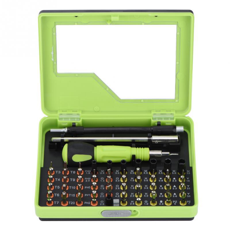 53 in 1 Mobile Phone PC Multi-purpose Precision Screwdriver Set Repair Tools Kit For iPhone X 8 Plus 7 7Plus 6 6Plus for PC
