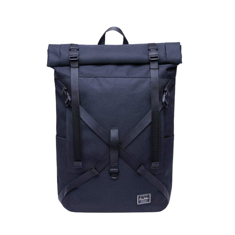 KAUKKO sac à dos pour ordinateur portable étanche rouleau Top sac à dos hommes et femmes, sac à dos pour loisirs/affaires/Camping/école/voyage