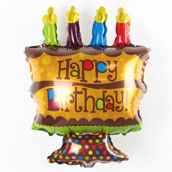 Cute Aluminum Foil Balloon Inflatable Balloons Kids Happy