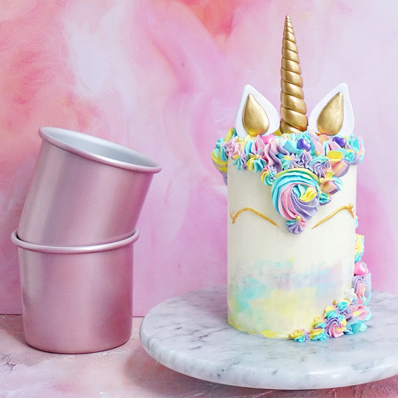 Cake Bread and Meat Bakeware Non-Stick Surface Baking Bakeware Pan BPA-Free Golden FDA Approved for Cake Pudding Bread Baking Tool 4-Inch Star-Shaped Cake Pan Hemoton Cake Baking Mold