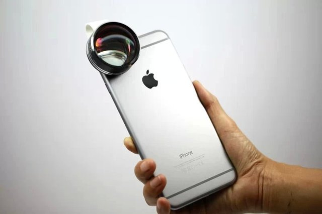Hot sale clip telephoto telescope phone camera lens for iphone