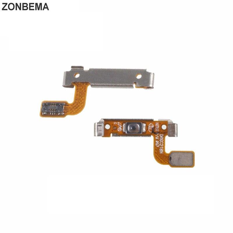 ZONBEMA 50pcs lot Original Power Button Flex Cable On Off Switch Flex Cable Ribbon For Samsung