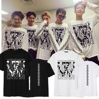 KPOP WINNER EXIT Japan Album Shirts K POP Casual Cotton Clothes Tshirt T Shirt Short Sleeve