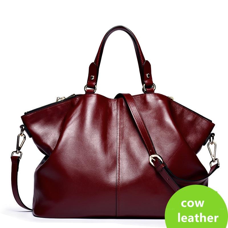2017 genuine leather bags handbags women famous brands, real leather handbags designers brand, fashion purse women