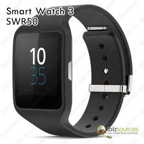 ba27775de11 Genunie novo Sony SmartWatch 3 SWR50 Wearable relógio inteligente em Relógios  inteligentes de Eletrônicos no AliExpress.com
