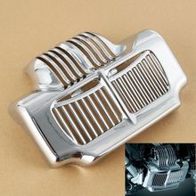 Oil Cooler Cover For Harley Touring Road King Electra Street Glide Trike FLHT FLTR FLHX 11-15