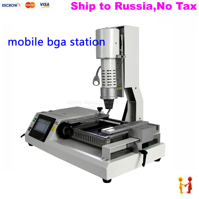 NO TAX TO Russia Professional mobile repair soldering station LY 5250 bga rework machine 220V ship to russia no tax jovy re8500 bga rework station re 8500 upgraded from re7500 soldering machine high quality