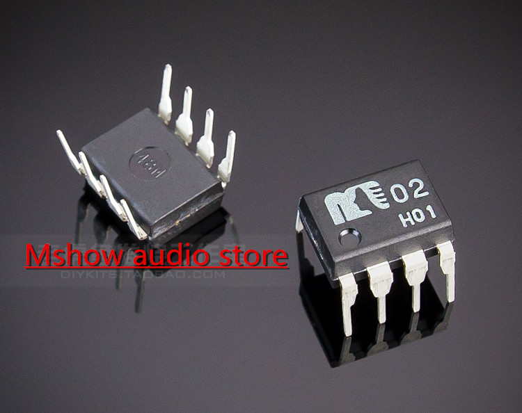 2PCS Original New MUSES02 Dual OP amp OPAMP upgrade to your HIFI ES9018 ES9028 ES9038 ES9038PRO