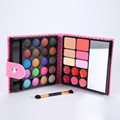 Pro 32 Colors Makeup Eyeshadow Palette Fashion Face Eye Lips Make Up Kit With Case Cosmetics For Women Oogschaduw