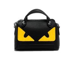2016 luxus Handtaschen Frauen Messenger Bags Berühmte Marken Designer Eye Monster Crossbody-tasche für frauen Kleines Kissen Umhängetasche