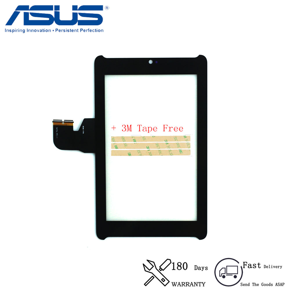 original For <font><b>ASUS</b></font> Fonepad 7 LTE ME372 ME372CG <font><b>K00E</b></font> Tablet PC Touch Screen Digitizer Glass Part Replace panel image