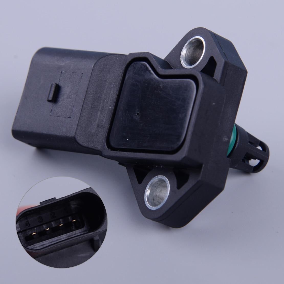 Map Sensor In Car: Beler Car 3 Bar Manifold Absolute Pressure MAP Sensor Fit