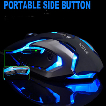 Snigir brand Macro custom programming USB laptop computer gaming mouse computer pc Notebook mice mause gaming mouse for Dota2 cs(China)