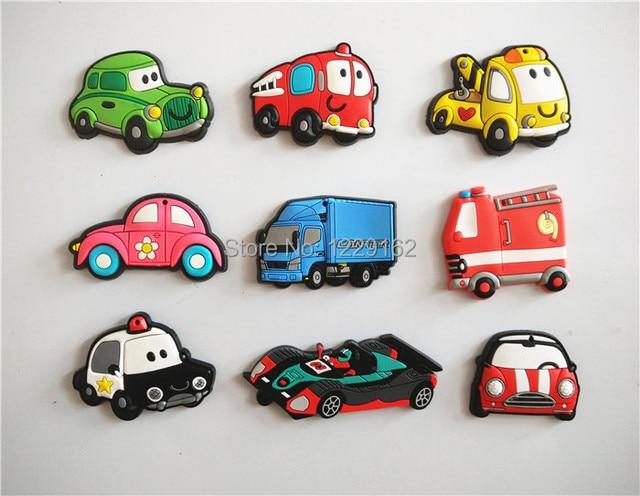 Kühlschrank Transport Auto : Freies verschiffen teile los cartoon auto kühlschrank magnete
