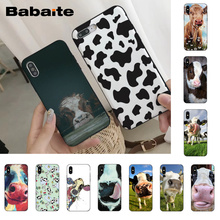 Babaite Cow High Quality Classic Phone Accessories Case for