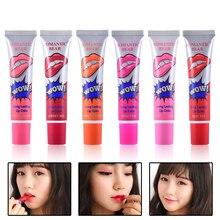 1Pcs Hot Sell Famous Brand Beauty Red Romantic Bear Wow Makeup Waterproof Lipstick Matte Lip Gloss Impermeavel lip gloss