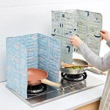 Скандинавский стиль бытовой алюминий фольга масло перегородка высокая температура кухня изоляционная доска бытовой масляный перегородка кухонные инструменты