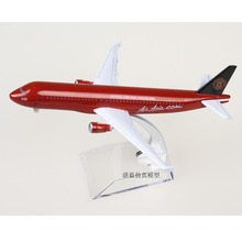 5pcs lot Brand New 1 200 Scale AirAsia Limited Version Airbus A320 Airplane 16cm Length