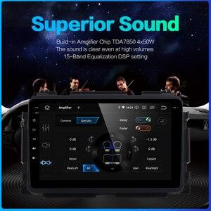 "Image 4 - Dasaita 1 din 1080P Video Car Android 10 Radio GPS for Honda Vezel HR V HRV 2014 2015 2016 2017 Bluetooth 9"" Multi Touch Screen"