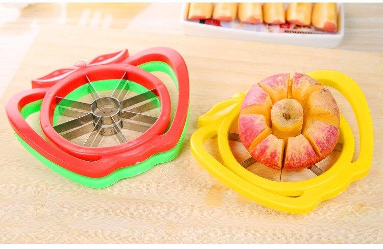 Fruit vegetable tools Apple cutter knife Multi-function fruit slicer Plastic splitters Cooking accessories Kitchen gadgets