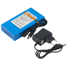 Over Charge Protective DC 12V 8000MAH Li-ion Super Rechargeable Battery Backup Pack For CCTV Camera with EU Plug